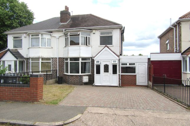 Thumbnail Semi-detached house to rent in Astley Road, Handsworth, Birmingham
