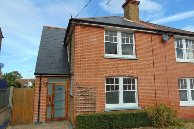 Thumbnail Terraced house to rent in Argyle Road, Whitstable