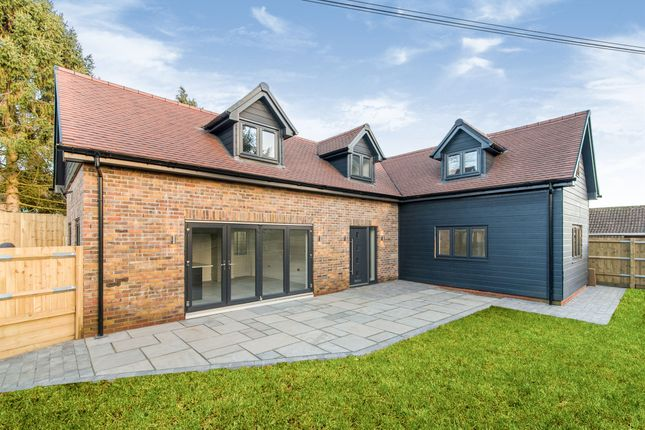 Thumbnail Detached house for sale in Church Road, North Waltham, Basingstoke
