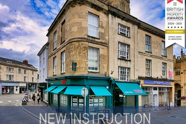 Thumbnail Flat to rent in West Market Place, Cirencester