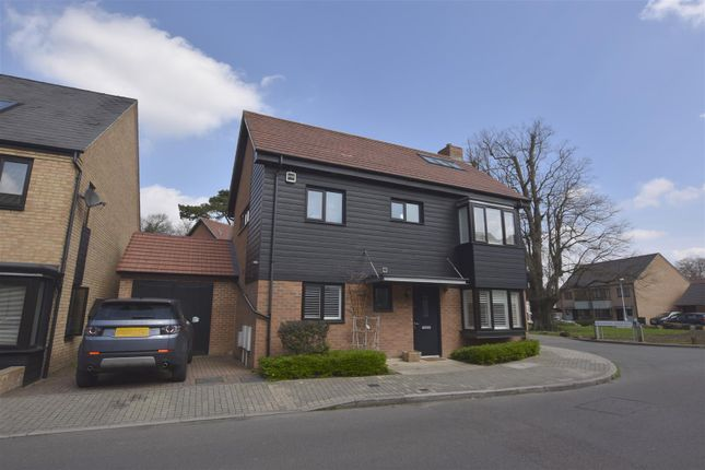 Thumbnail Detached house for sale in Hawley Drive, Leybourne, West Malling