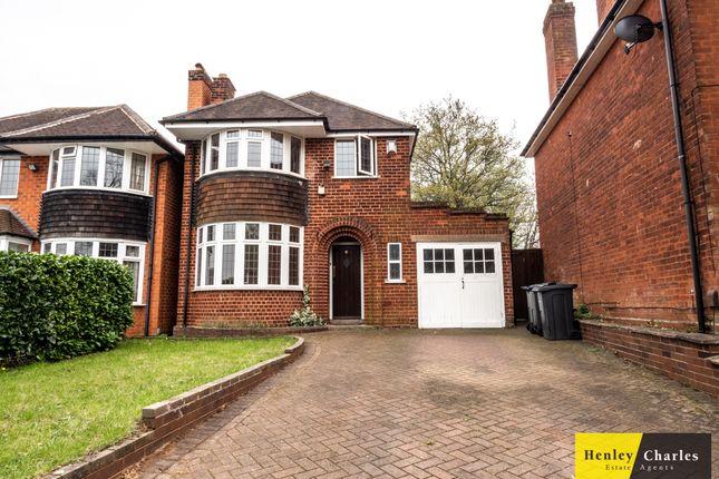 Thumbnail Detached house to rent in Greenridge Road, Birmingham