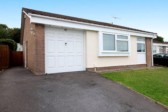 Thumbnail Detached bungalow for sale in Longmead Road, Preston, Paignton