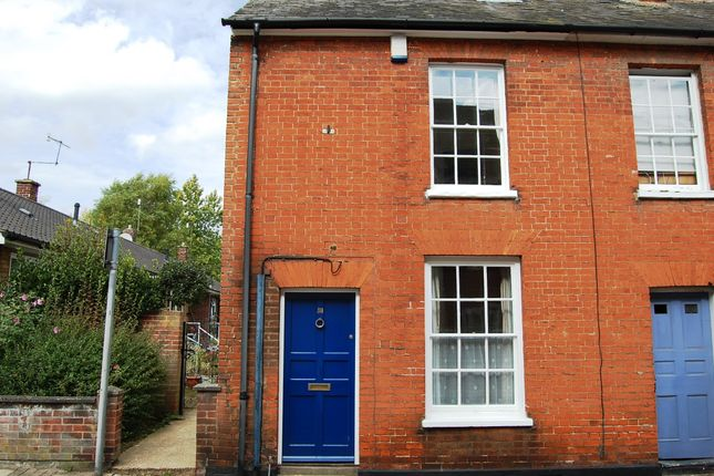 Thumbnail End terrace house for sale in New Street, Woodbridge