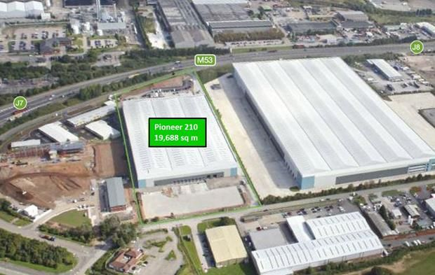 Thumbnail Light industrial to let in J7-J8, M53, Pioneer Business Park, Ellesmere Port