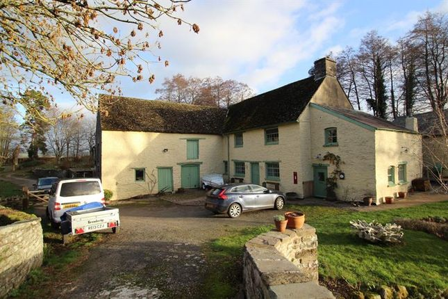 Thumbnail Detached house to rent in Llanfrynach, Brecon