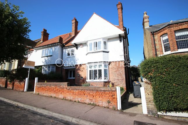 Thumbnail Semi-detached house for sale in West Cliff Road, Broadstairs