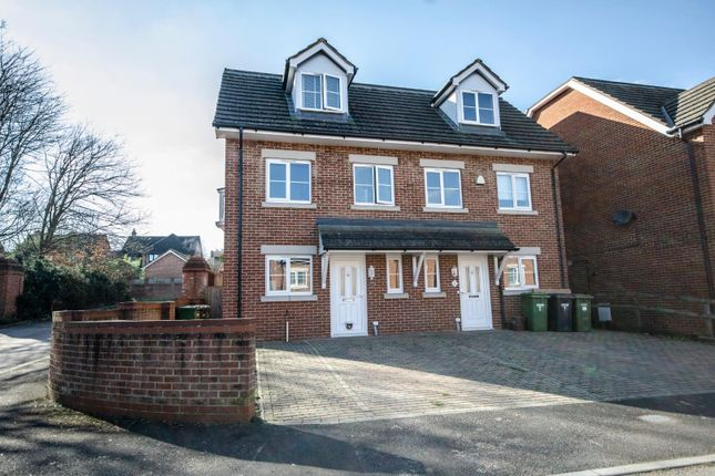 Thumbnail Town house for sale in Horne Close, West End, Southampton