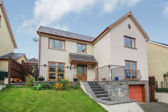 Thumbnail Detached house for sale in Beaconsfield, Gilwern, Abergavenny