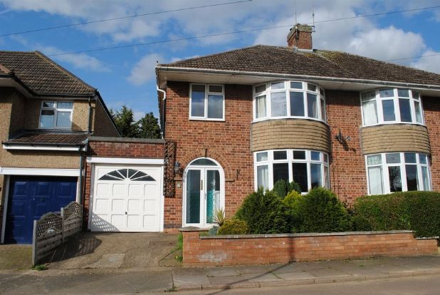 Thumbnail Semi-detached house for sale in Barons Way, Kingsthorpe Village, Northampton