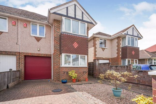 Thumbnail Semi-detached house for sale in Hereford Road, Feltham