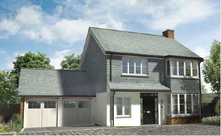 Thumbnail Detached house for sale in Hobbacott Lane, Marhamchurch, Bude