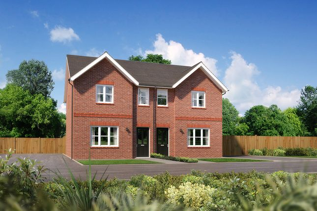 """3 bed semi-detached house for sale in """"Argyll II"""" at Church Road, Warton, Preston PR4"""
