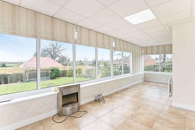 Conservatory of Woodland Road, Stanton, Burton-On-Trent, Staffordshire DE15