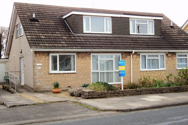 Thumbnail Semi-detached house to rent in Fulmar Road, Porthcawl