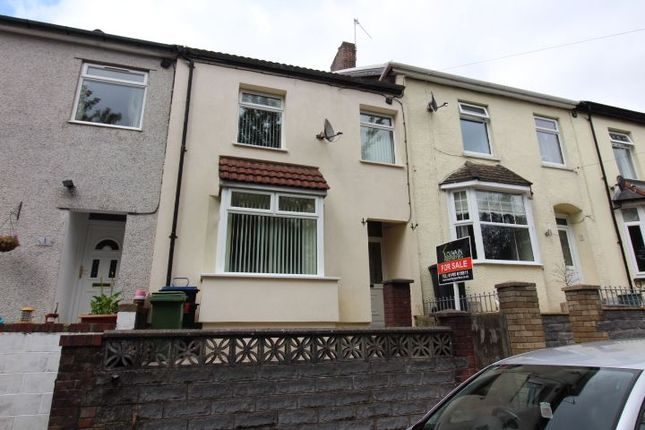 Thumbnail Terraced house to rent in Oakfield Road, Tredegar