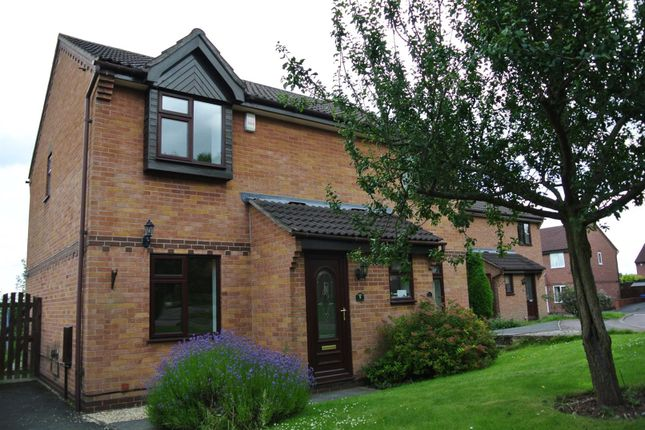Thumbnail Semi-detached house to rent in Kibworth Close, Oakwood, Derby