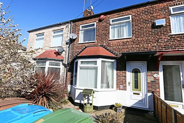 Thumbnail Terraced house for sale in Bedford Road, Hessle