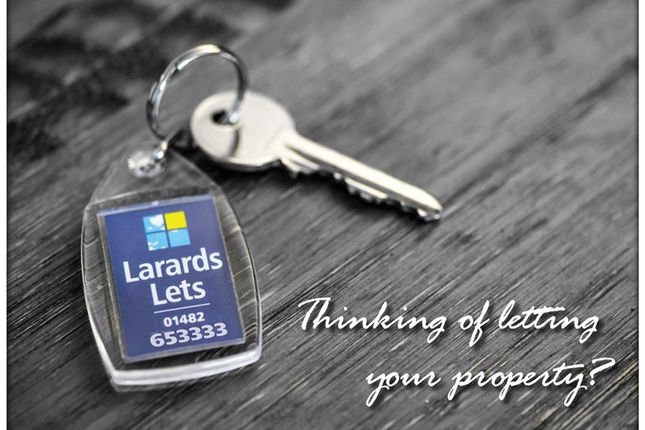 Are You Thinking Of Letting Your Property?