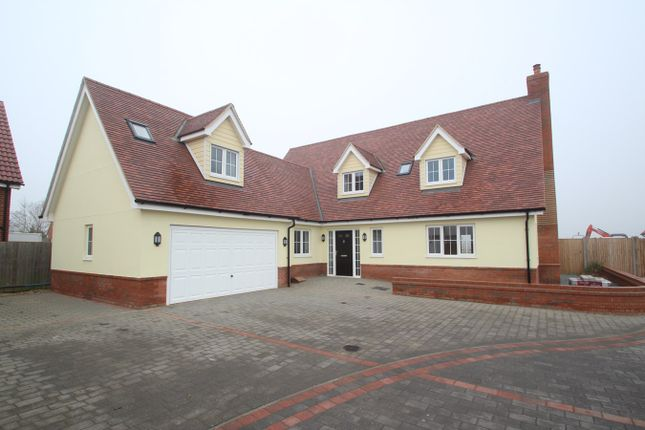 Thumbnail Detached house for sale in Keeble Road, Brantham, Manningtree