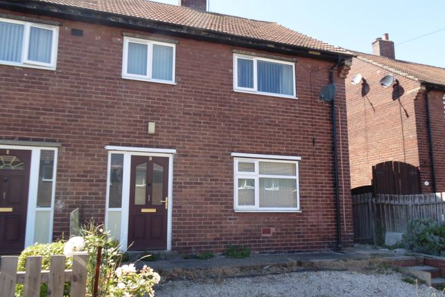 Thumbnail Semi-detached house to rent in Burntwood Crescent, South Kirkby