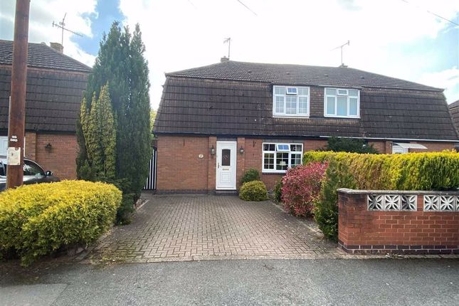 Thumbnail Semi-detached house for sale in Howard Road, Worcester