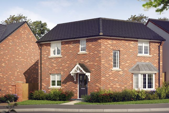 Thumbnail Detached house for sale in The Doveridge At Oaklands Park, Wyaston Road, Ashbourne