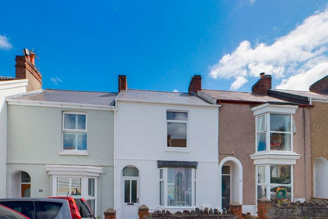 Thumbnail Terraced house for sale in Woodville Road, Mumbles, Swansea