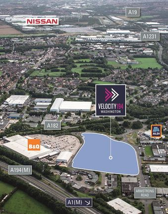 Thumbnail Commercial property for sale in Velocity 194 Armstrong Way, Washington, Tyne & Wear