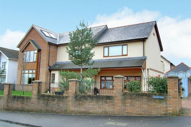 Thumbnail Detached house for sale in Llwyn Y Pia Road, Lisvane, Cardiff