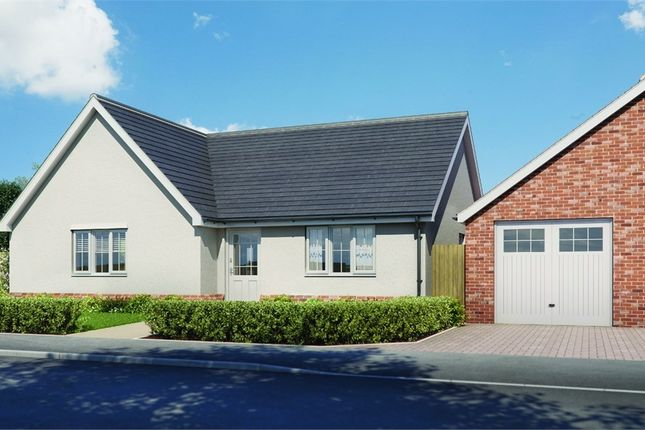Thumbnail Detached bungalow for sale in Plot 8 'old Stables', Walton Road, Kirby-Le-Soken, Frinton-On-Sea, Essex