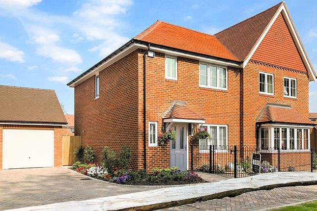 Thumbnail Semi-detached house for sale in The Pagham, Ellsworth Park, Foreman Road, Ash, Surrey