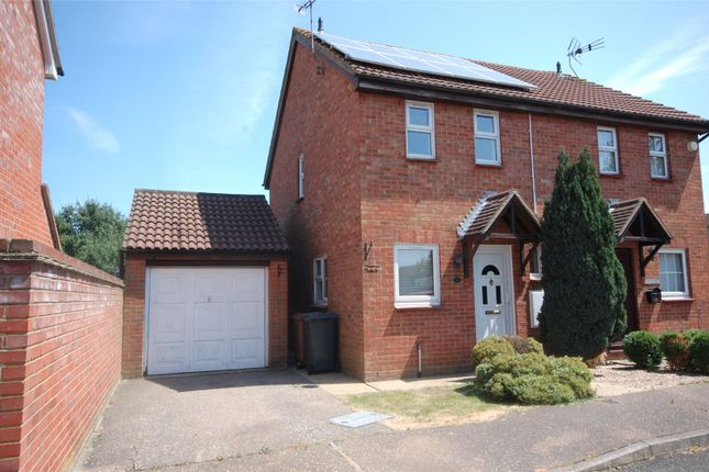 Thumbnail Semi-detached house for sale in Culver Rise, South Woodham Ferrers, Essex