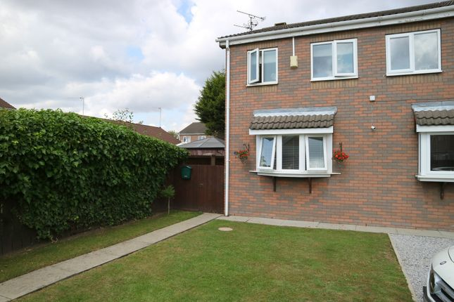 Thumbnail Semi-detached house for sale in Bannister Drive, Hull, East Riding Of Yorkshire