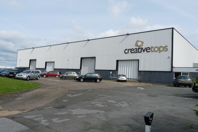 Thumbnail Warehouse for sale in Causeway Road, Corby
