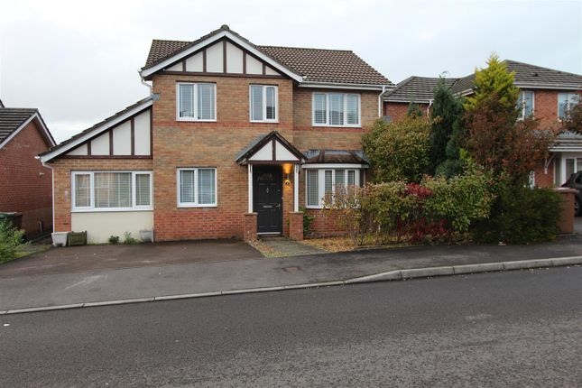 Thumbnail Detached house for sale in Half Acre Court, Caerphilly