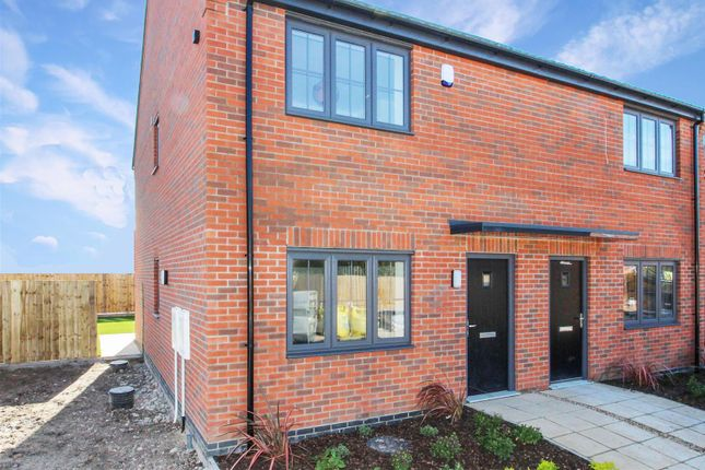 Thumbnail Semi-detached house for sale in Plot 3, Bentley Close, Albion Street, Driffield