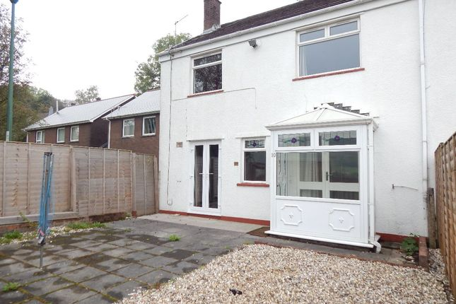 Thumbnail End terrace house for sale in Beaumont Close, Nantyglo, Ebbw Vale