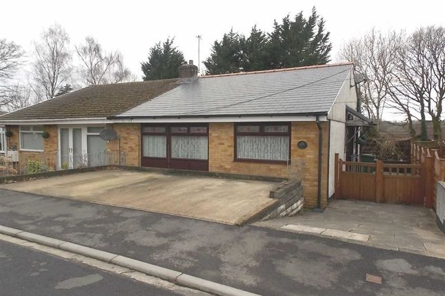 Thumbnail Semi-detached bungalow for sale in Westfield Road, Glyncoch, Pontypridd
