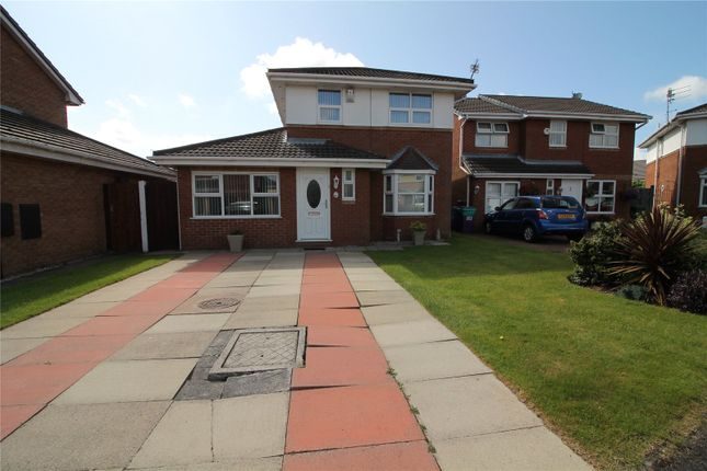 Thumbnail Detached house for sale in Sundew Close, Orrell Park, Liverpool