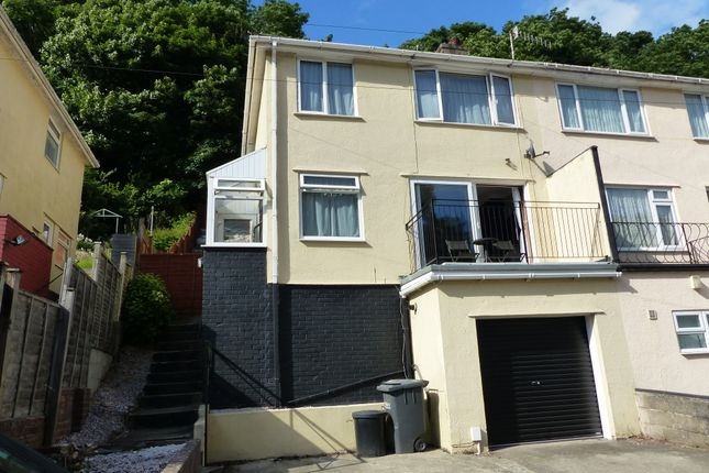 Thumbnail Semi-detached house to rent in Occombe Valley Road, Preston, Paignton