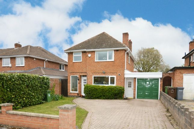 Thumbnail Detached house for sale in Sansome Road, Shirley, Solihull