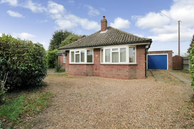 Thumbnail Bungalow for sale in Mill Road, Alpington, Norwich