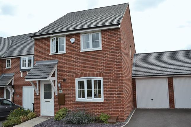 Thumbnail Detached house to rent in Suffolk Way, Church Gresley, Swadlincote