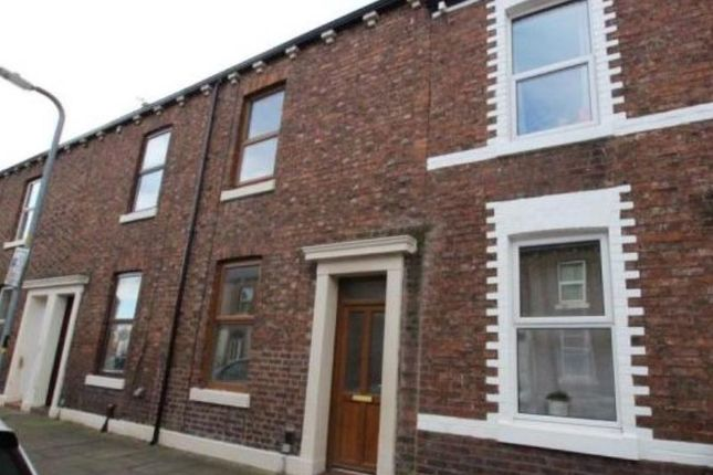 Thumbnail Terraced house to rent in Collingwood Street, Carlisle, Cumbria