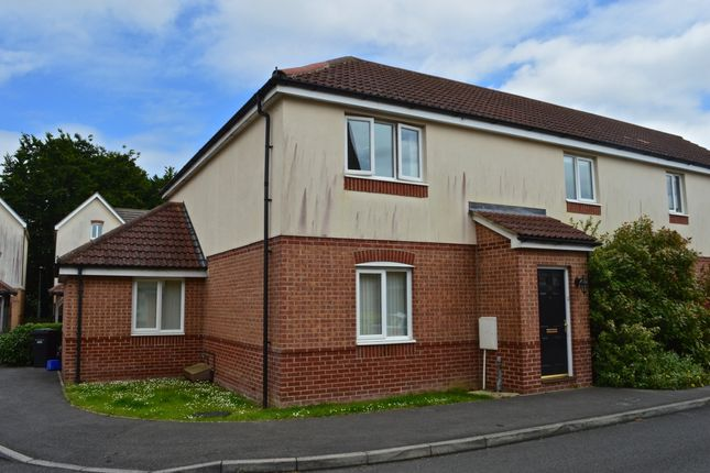 Thumbnail Flat for sale in Tristram Close, Yeovil