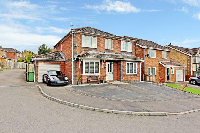 Thumbnail Detached house for sale in Heol Rhosyn, Llantwit Fardre, Pontypridd