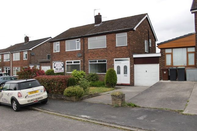 Thumbnail Semi-detached house to rent in Higher Barn Road, Hadfield, Glossop