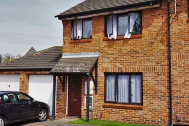 Thumbnail End terrace house for sale in Vellum Drive, Carshalton