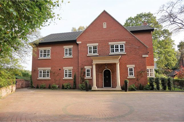 Thumbnail Detached house for sale in Vale Royal Drive, Northwich